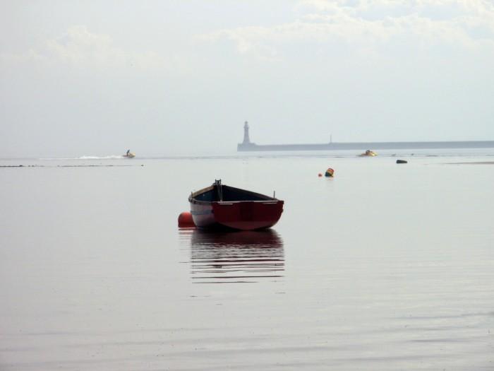 A boat on Roker Beach